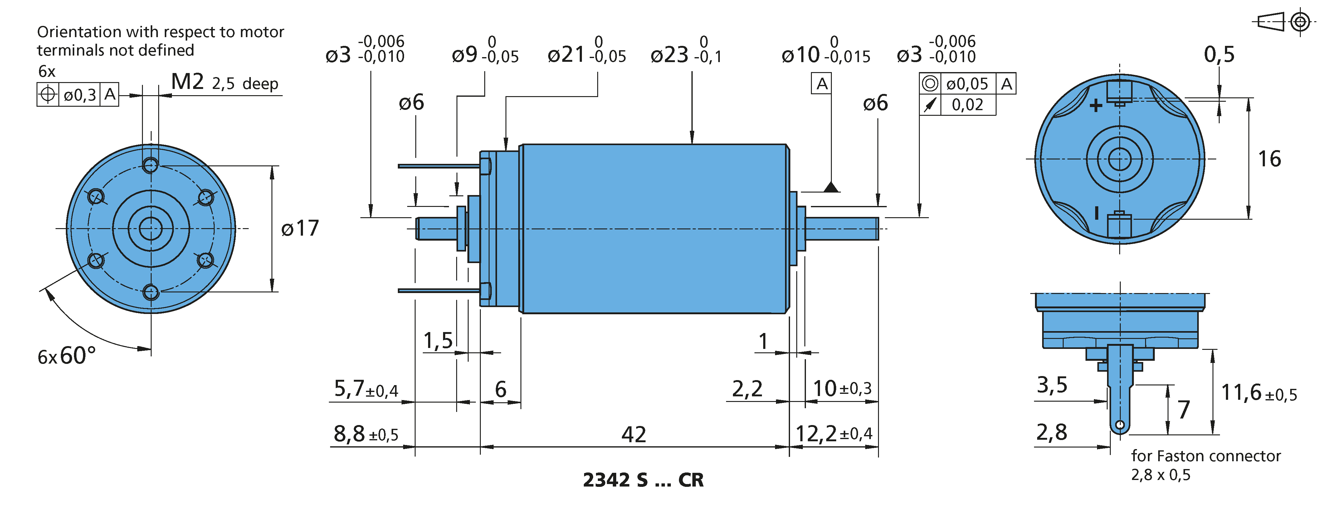 DC-Micromotors 2342...CR