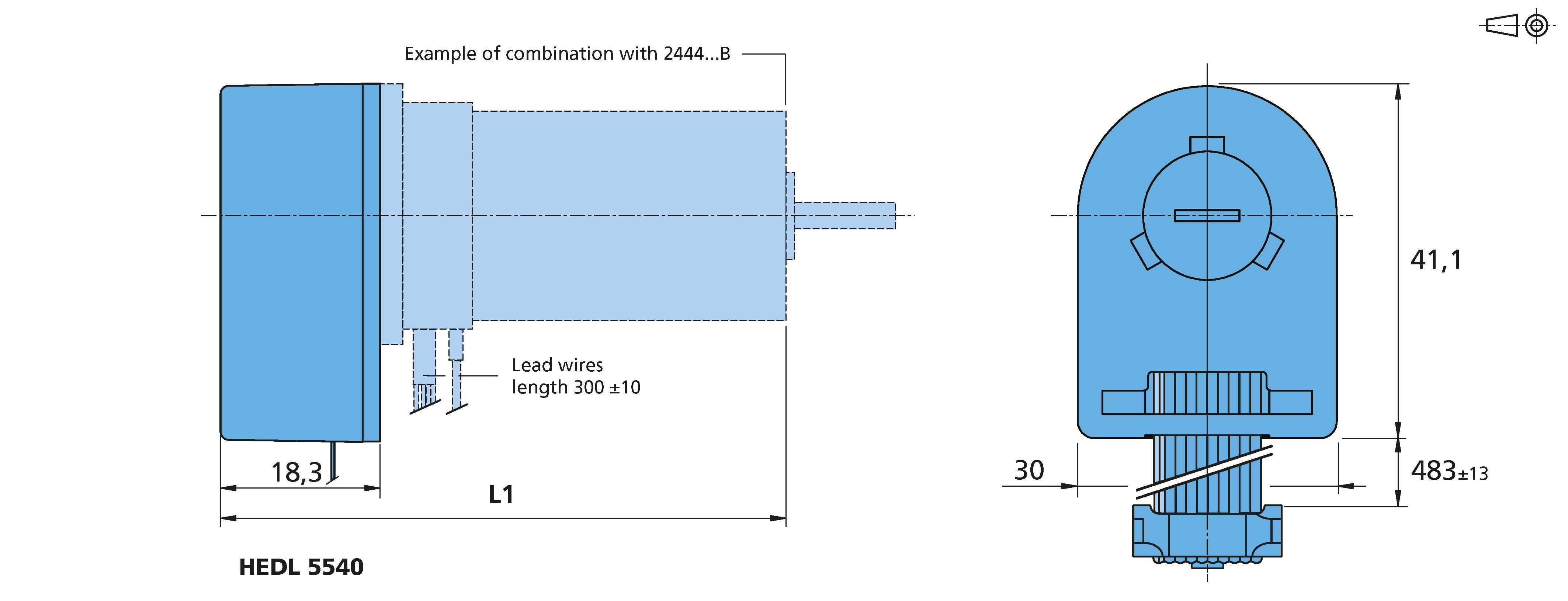 Incremental encoder HEDL 5540