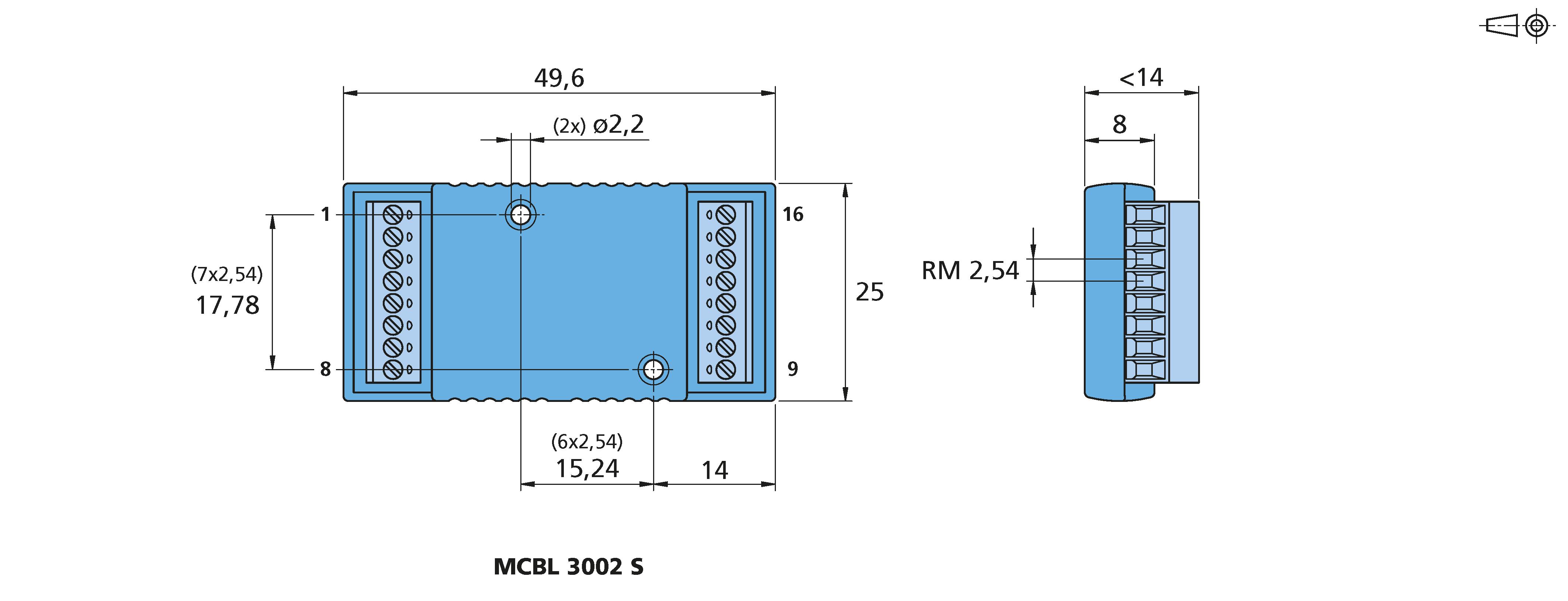 3002 P Controlador de motor sin escobillas DC RS Faulhaber MCBL