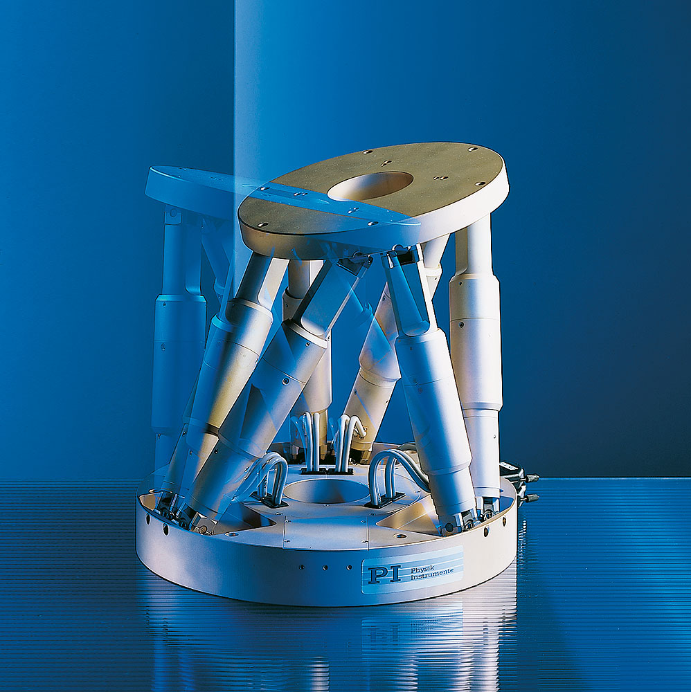 FAULHABER Drive Systems: Hexapod (Micropositioning technology)