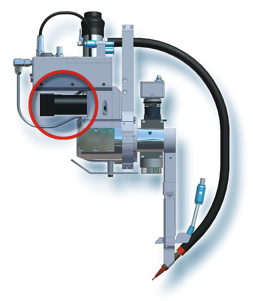 Sensitive drive enables new approach to laser welding