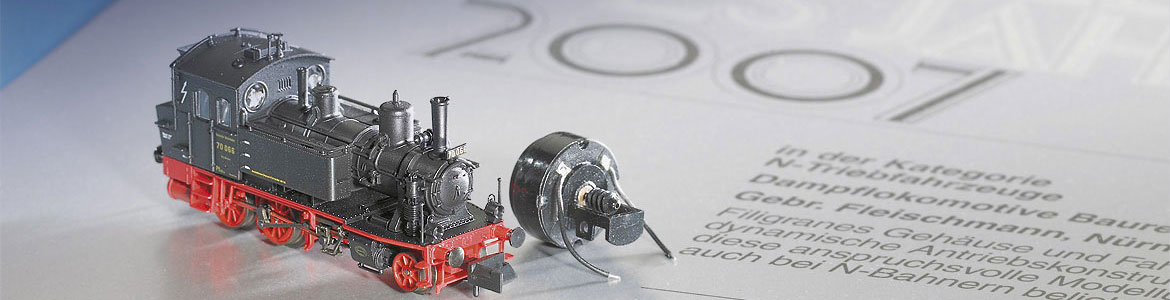 Model steam locomotive