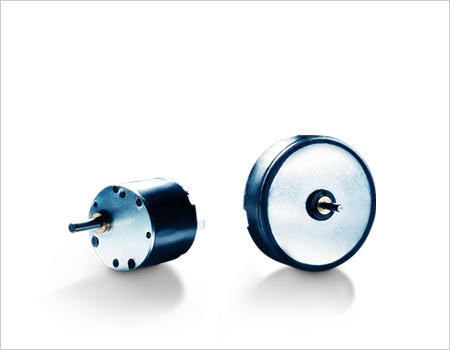 Flat DC-micromotors and DC-gearmotors