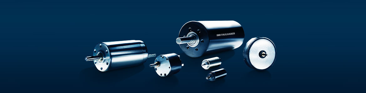 DC motors with precious metal commutation and graphite commutation from FAULHABER