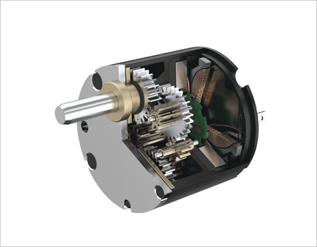 FAULHABER SR Flat DC motor with graphite commutation